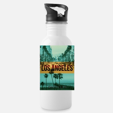 Los Angeles los angeles california - Water Bottle