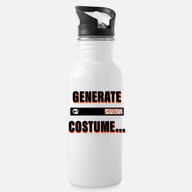 Halloween Costume Generate Costume - Halloween Costume - Water Bottle