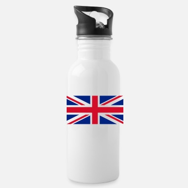 Uk UK flag - Water Bottle
