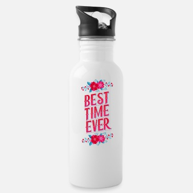 Shade Best Time Ever: Keep your best moments in memory - Water Bottle