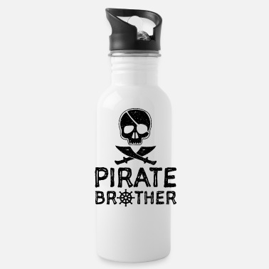 Brother Pirate Brother - Brother - Water Bottle