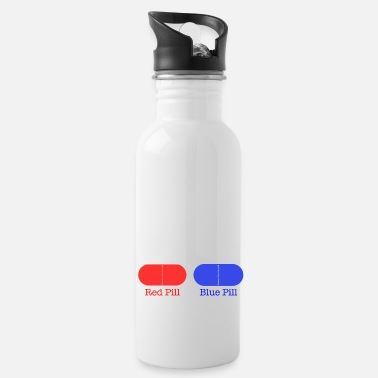 Ramseys Retro Apparel Ramseys Red Pill or Blue Pill - Water Bottle