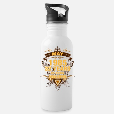 Awesome May May 1985 32 Years of Being Awesome - Water Bottle