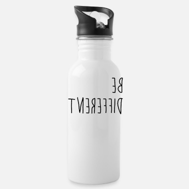 Different Be different - difference - Water Bottle