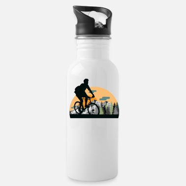 Alps Alps cyclist - Water Bottle