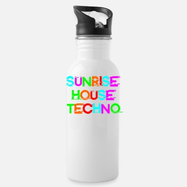 Jumpstyle sunrise house techno - Water Bottle