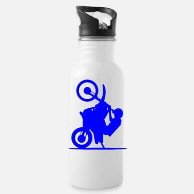 Attractive motorcycle attraction - Water Bottle