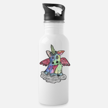 Metal Punk Metal Unicorn - Water Bottle