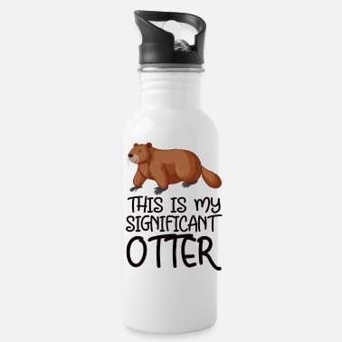 Miscellaneous this is my significant otter - Water Bottle