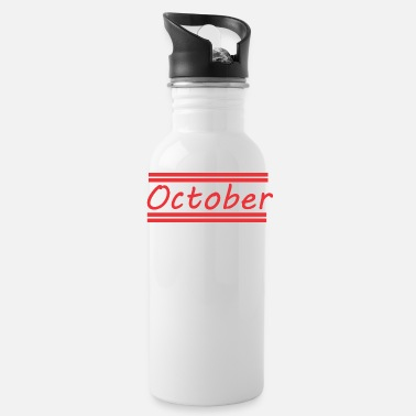 October October - Water Bottle