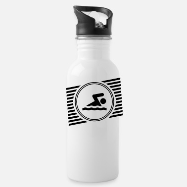 Swimmer Swimmer - Water Bottle