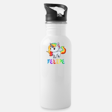Felipe Birth Felipe Unicorn - Water Bottle