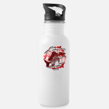 Fish Bone fish bone - Water Bottle