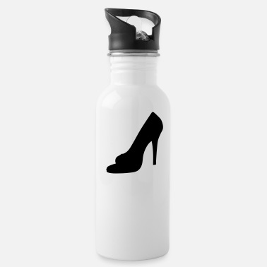 Highheels Vector highheels Silhouette - Water Bottle