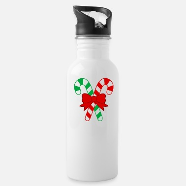 Candy Cane Candy cane - Water Bottle
