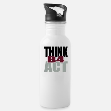 Tlc Think Before Act - Water Bottle