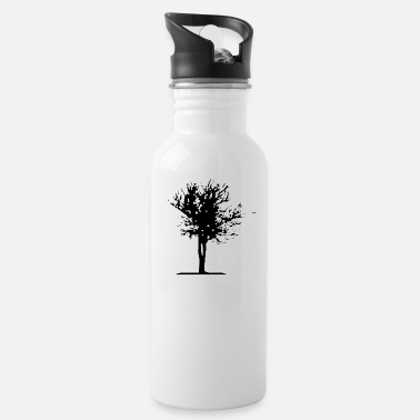 Tree tree wood trees - Water Bottle