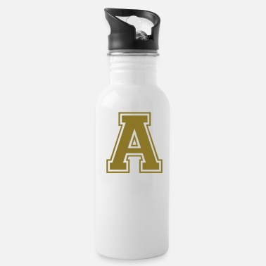 Letter Boxing A - Letter - Water Bottle