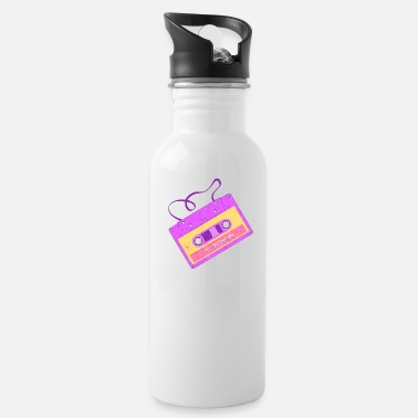 80s My Awesome Mixtape Retro - Water Bottle