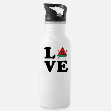 Laughing Silly Hilrarious Summer Fruit Designs For ❤Love Watermelon-Best Hot Summer Fruit❤ - Water Bottle