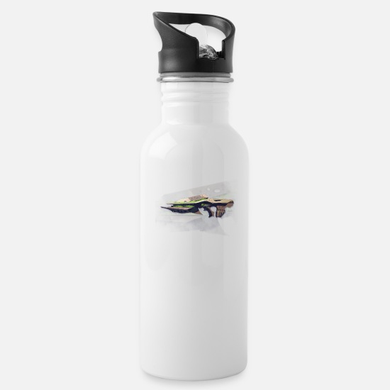 Destiny Mugs & Drinkware - Necrochasm - Water Bottle white