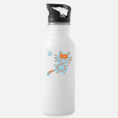 Narwhal Rainbow Stormtrooper Cat Catpaw Design Cats Funny Geek Birthday Xmas - Water Bottle