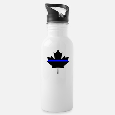 Canada Canada Thin Blue Line - Water Bottle
