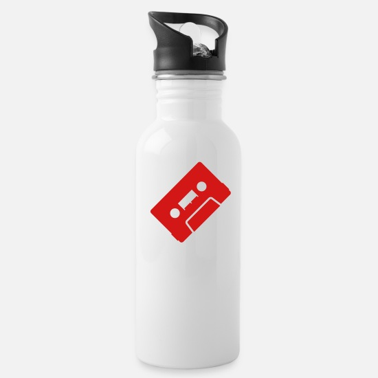 Love Mugs & Drinkware - mix tape - Water Bottle white