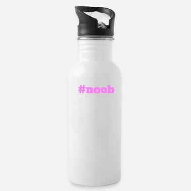 Hashtag Noob - Water Bottle