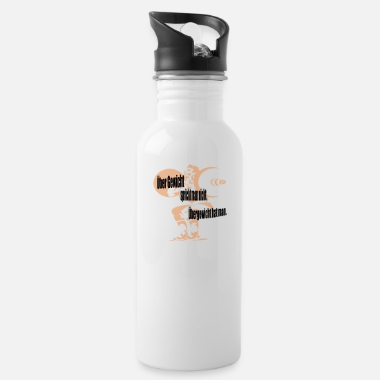Gift Idea Mugs & Drinkware - mass - Water Bottle white
