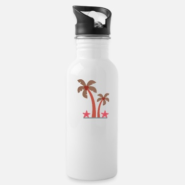 Palm Trees Palm trees - Water Bottle