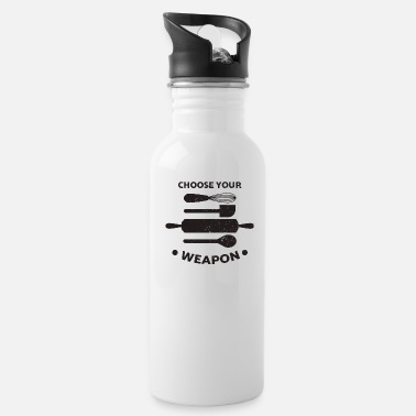 Sugar Baker Bakers baker baking gift idea funny saying sugar - Water Bottle