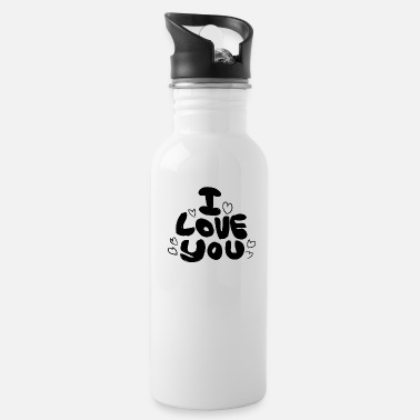 Love You Love You Love - Water Bottle