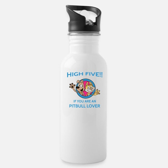 Lover Mugs & Drinkware - Dog lover - Water Bottle white