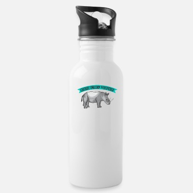 Chubby Chubby Unicorn Whispers T-Shirt - Water Bottle