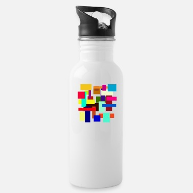 Rectangle Rectangles - Water Bottle