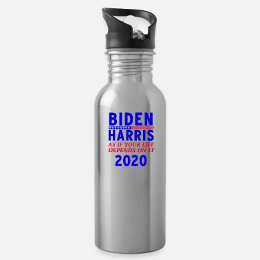 Trump As if your life depends on it - Water Bottle