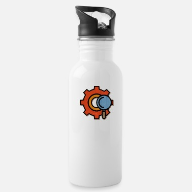 Icon Gear icon search icon test icon - Water Bottle
