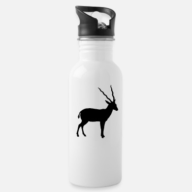 Wildebeest antelope africa - Water Bottle