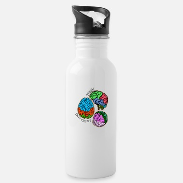 Think Different Use your brain in unusual ways - Water Bottle