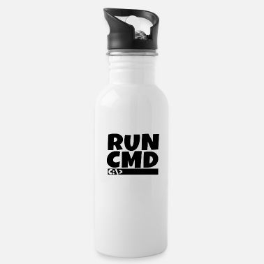 Web Run cmd | Computer Nerd | Web Designer | CSS | exe - Water Bottle
