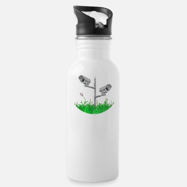 New World Order New World Order cctv - Water Bottle