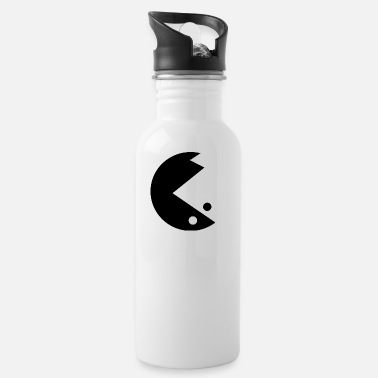 Black And White Black and White - Water Bottle
