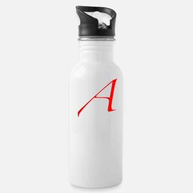 Scarlet Letter A - Water Bottle