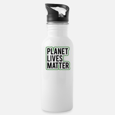 Organic Revolution Evolution Planet Lives Matter 1 - Water Bottle