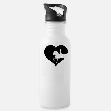 Equitation Dressage horse riding equitation - Water Bottle