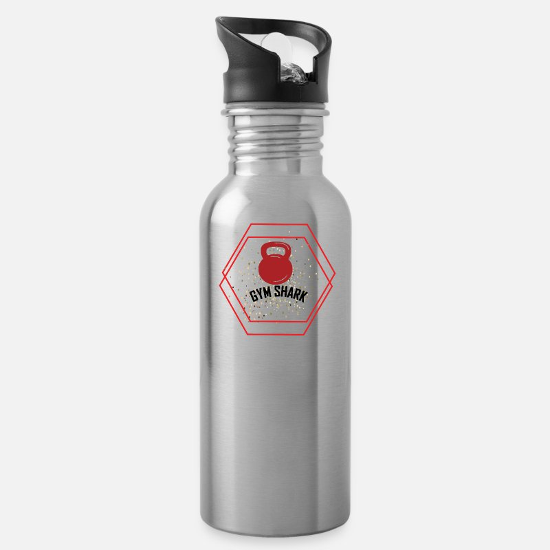 ff18ac6591 GYM SHARK Water Bottle | Spreadshirt
