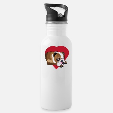 Bulldog Bulldog French Bulldog Bulldog T shirt - Water Bottle