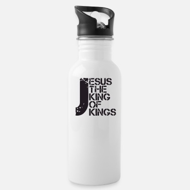 King Jesus the king - Water Bottle