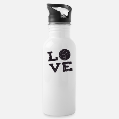 Volley volley love - Water Bottle